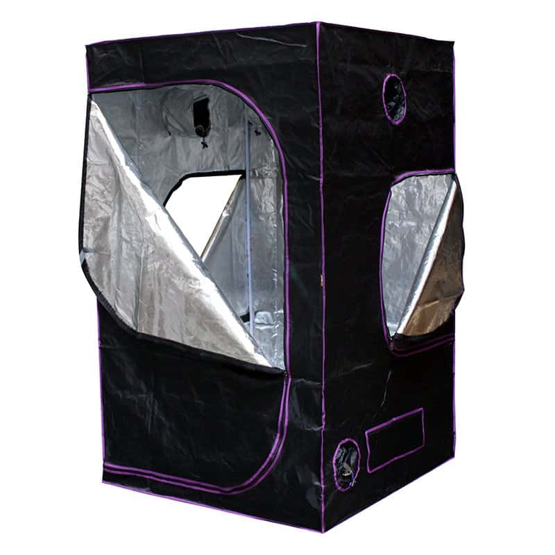 """Apollo Horticulture 48""""x48""""x80"""" Mylar Hydroponic Grow Tent"""
